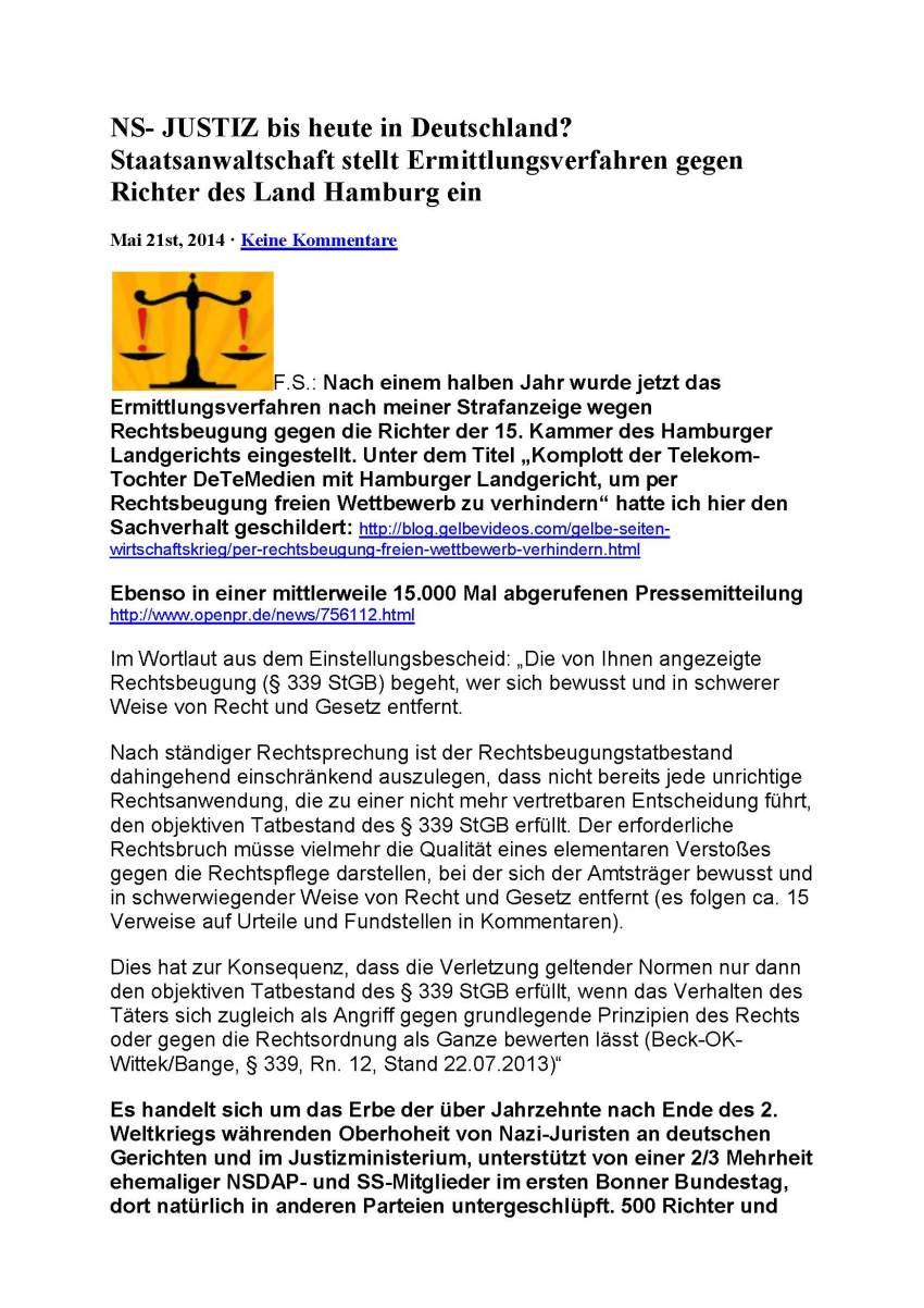 Deutsche Justiz
